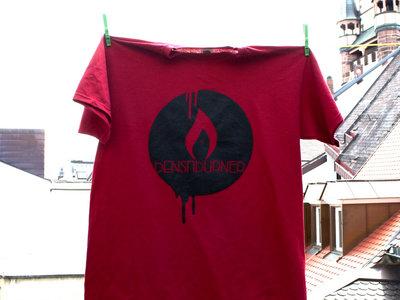 logo shirt - red main photo