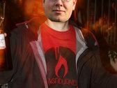 logo shirt - red photo