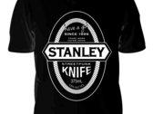Stanley Knife Reschs knock-off black shirt photo