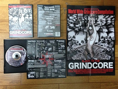 World Wide Grindcore Compilation - SLAVE TO GRINDCORE (CD+DVD) main photo