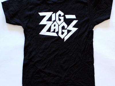 "Zig Zags Logo T-shirt ""Black"" main photo"