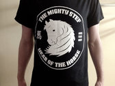 f7ad53d2 The Mighty Stef - White Year Of The Horse pre-used with love by band T-Shirt