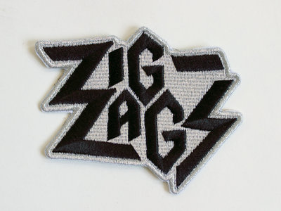 Zig Zags Embroidered Patch main photo