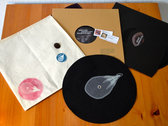 "Limited Edition 12"" Vinyl + Exclusive Slipmat + Download Codes + Sticker in Custom Envelope photo"