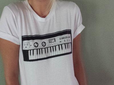 Keyboard design t-shirt main photo