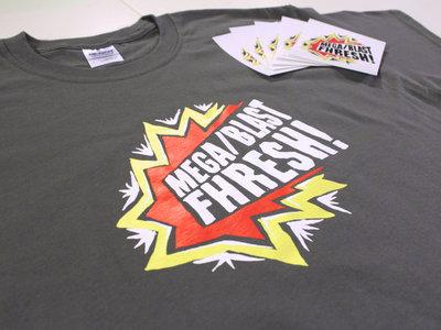 MegaBlastFhresh T-Shirt, Sticker & LP+ Pack main photo