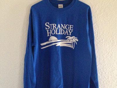 Strange Holiday L/S T-Shirt (Blue) main photo