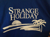Strange Holiday L/S T-Shirt (Blue) photo