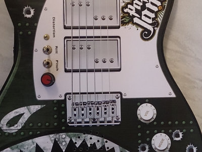 Circuit bent Toy guitar by Psychiceyeclix main photo
