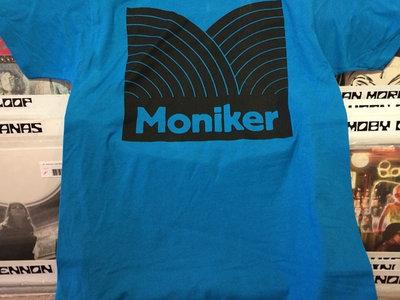 Moniker Logo T-shirt (Turquoise) main photo