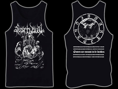 SVARTIDAUÐI - Bones are Meant to be Broken tank-top / sleeveless main photo