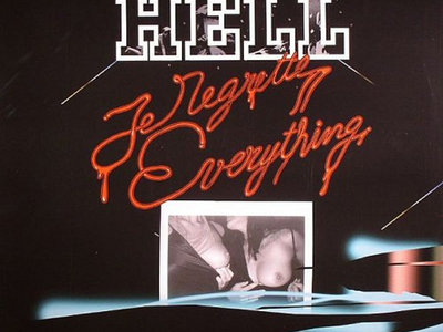 Hell feat. Billie Ray Martin - Je Regrette Everything - CD single [GIGOLO140] main photo