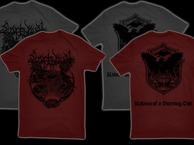 SVARTIDAUÐI - Ravens of a Burning God t-shirt main photo