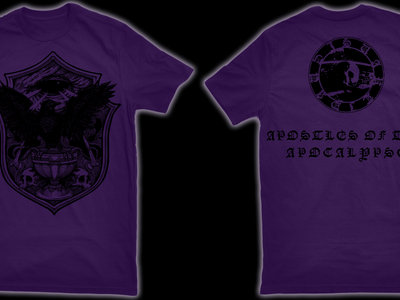 SVARTIDAUÐI - Apostles of the Apocalypse IV t-shirt main photo
