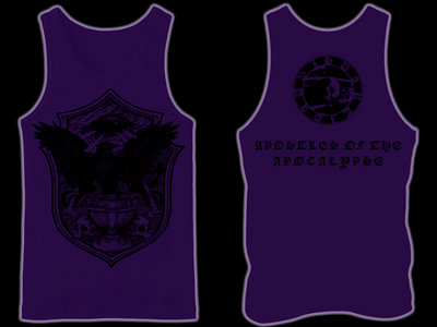 SVARTIDAUÐI - Apostles of the Apocalypse IV tank-top / sleeveless main photo