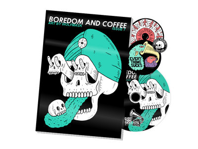 Boredom and Coffee Issue 7 - Physical Zine and Digital Compilation main photo