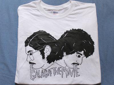 Galaga logo shirt and CD bundle main photo