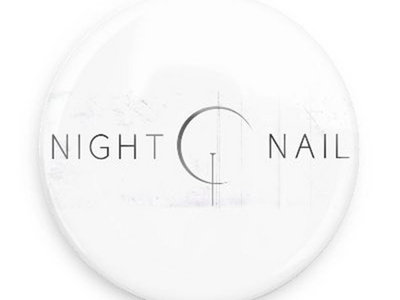 "Night Nail ""White"" Button main photo"