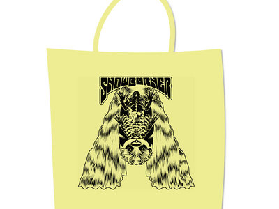 Cotton Tote Bag with Snowburner artwork main photo