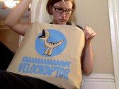 Velociraptote Tote Bag photo