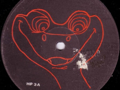 Talking With Myself - snake label promo vinyl [HIP 3] main photo