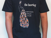 "The Hearing ""Peacock"" t-shirt photo"