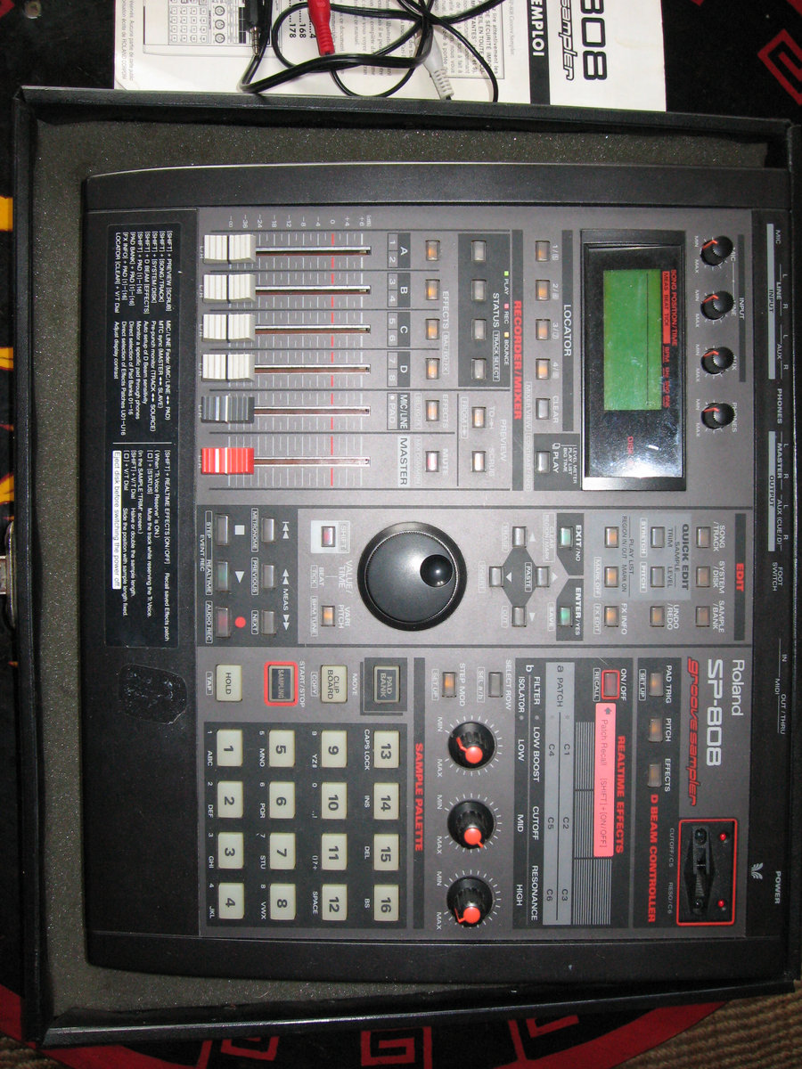 SP-808 Live