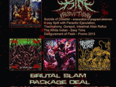 Brutal Slam Package Deal 4 CD´s for 22€ main photo