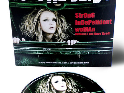 Limited Edition Signed CD of Strong Independent Woman (Unless I am Very Tired) main photo