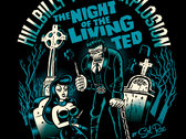 *** SALE!!! *** MEN's Night of The Living Ted Tee-shirt photo