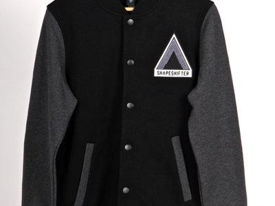 **SALE** Unisex | Bomber Jacket, Black n Grey Marle main photo