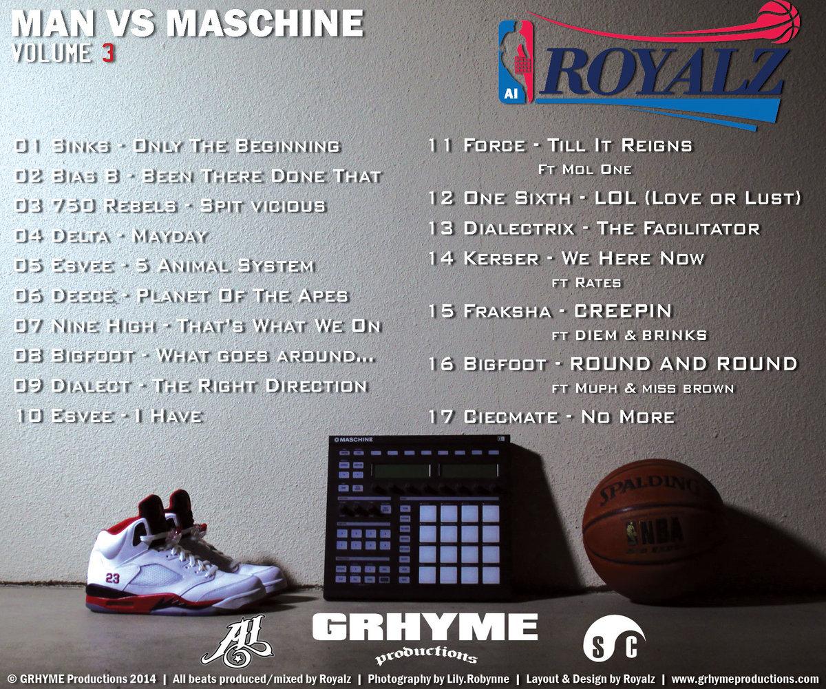 Man Vs Maschine Vol 3 | GRHYME Productions