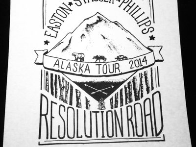 Alaska Tour 2014 Limited Edition Poster main photo
