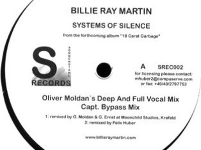 Systems Of Silence - Official vinyl release [SREC002] main photo