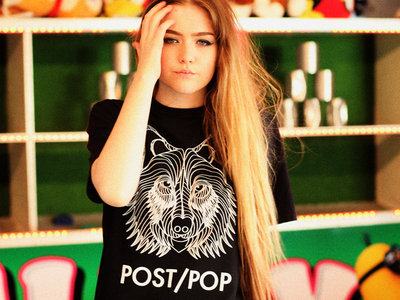 "POST/POP ""WOLF"" T-SHIRT // Limited Edition main photo"