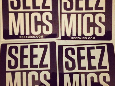 Seez Mics stickers (10/$5 or FREE with any purchase) main photo