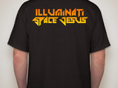Illuminati Space Jesus T-Shirt photo