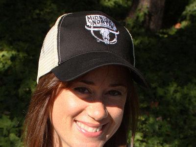Black Midnight North Trucker Hat main photo