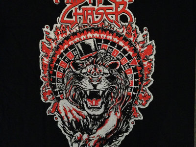 Lion's Roulette T-Shirt, Red & White main photo