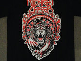 Lion's Roulette T-Shirt, Red & White photo