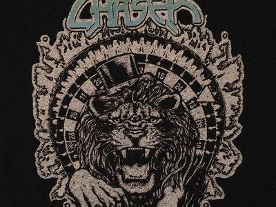Lion's Roulette T-shirt, Silver & Blue main photo