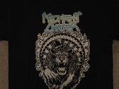 Lion's Roulette T-shirt, Silver & Blue photo