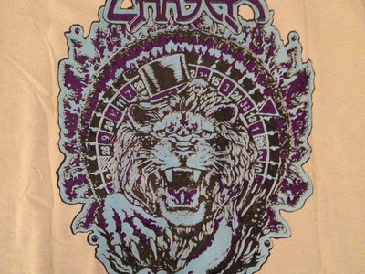 Lion's Roulette T-shirt - Purple & Blue main photo