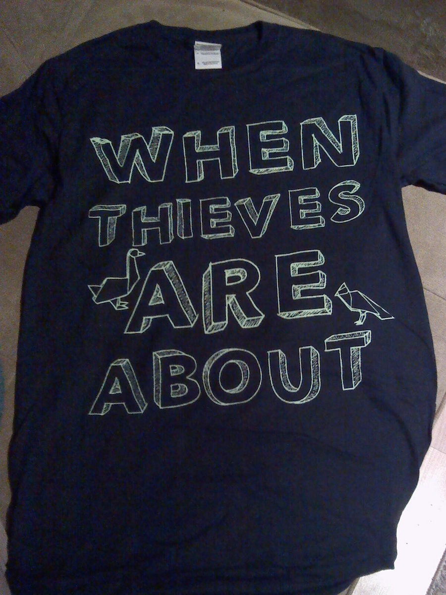 New origami t shirt when thieves are about new origami t shirt main photo jeuxipadfo Gallery