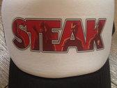 Steak Trucker Cap (Red Logo) photo