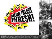MegaBlastFhresh T-Shirt, Sticker & LP+ Pack photo