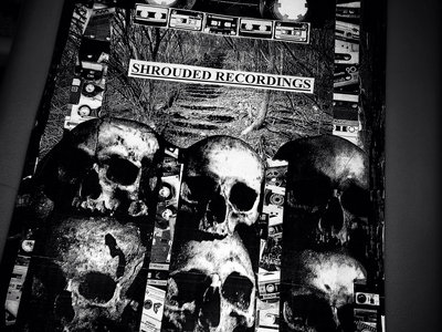shrouded recordings double sided poster main photo