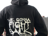 FIGHT BACK Hooded-Sweater photo