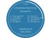 TABR028 - Jeremiah R. - Underwater Title photo