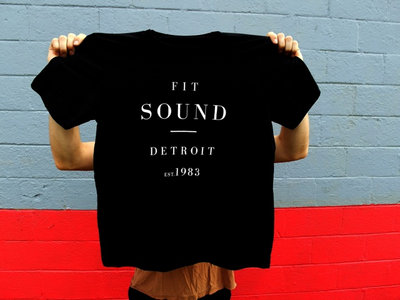 FIT SOUND T-SHIRT - UNISEX BLACK main photo